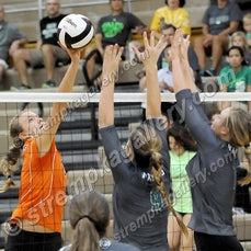 LaPorte vs. Valpo - 9/8/16 - LaPorte won the first two sets and then hung on for a five set win over Valpo on Thursday evening (9/8) in Valparaiso.  Scores...