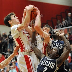 Michigan City vs. Crown Point (Boys) - 1/6/17 - After trailing by 11 at the half, Michigan City used a huge third quarter to defeat Crown Point 56-53 on...