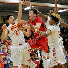 Crown Point vs. Andrean - 2/7/17 - Crown Point was a 73-61 winner over Andrean on Tuesday evening (2/7) in Merrillville.  Sasha Stefanovic led Crown Point...
