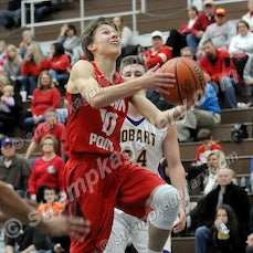 Crown Point - 2017 Sectional - 3/1/17 - View 61 Crown Point Basketball images from their 66-36 Sectional win over Hobart.