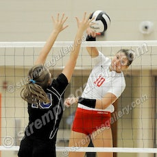 Lake Central vs. Crown Point - 8/29/17 - Crown Point defeated Lake Central in 3 sets on Tuesday evening (8/29) in Crown Point.  Scores were:  25-16, 25-13,...