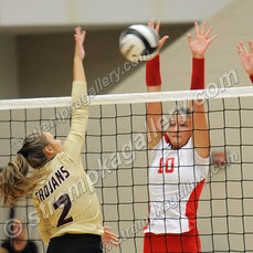 Chesterton vs. Crown Point - 9/26/17 - Crown Point was a three set winner over Chesterton on Tuesday evening (9/26) in Crown Point.  Scores were:  25-13,...
