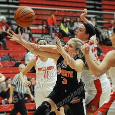 LaPorte vs. Crown Point - 11/24/17 - LaPorte defeated Crown Point 49-48 on Friday evening (11/24) in Crown Point.  You will find 39 images available for...