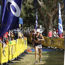 Bribie 13/14 #1 Finish - Bribie Tri Series 2013/14 Race 1 Finish Line searchable by bib number
