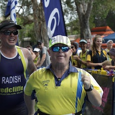 Bribie 13/14 #4 Long Run Finish - Long Course Run and Finish.  Searchable by Bib Number