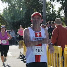 Qld Half Marathon - Finish Part 4 - SEARCHABLE BY BIB NUMBER.
