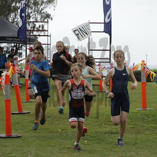 Rainbow Beach Double - Rainbow Beach's Double Triathlon held on the weekend of 22nd and 23rd August 2015