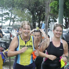 Bribie #4 Short T1 & Bike - NOT SEARCHABLE.  Photos from Short Course swim run in and Bike.
