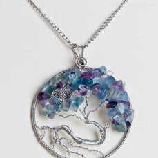 Handmade Jewellery - A collection of handcrafted jewellery items including pendants and necklaces