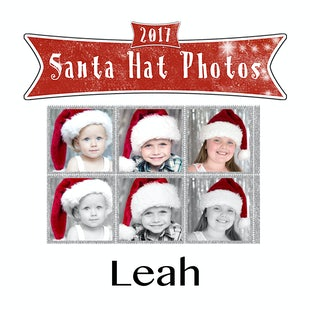 Santa Hat Photos - Leah