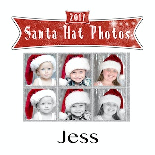 Santa Hat Photos - Jess