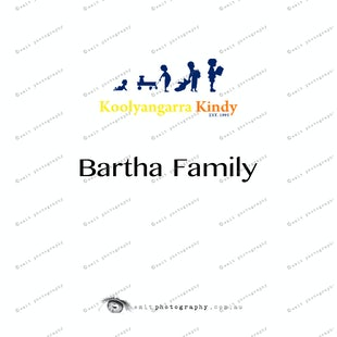 Koolyangarra Kindy - Bartha Family