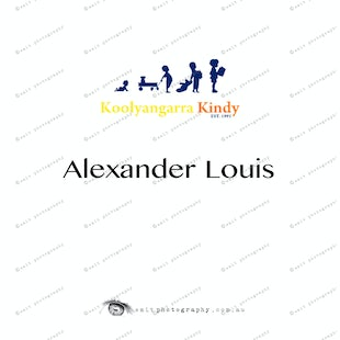 Koolyangarra Kindy - Alexander Louis