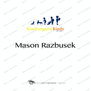 Koolyangarra Kindy - Mason Razbusek