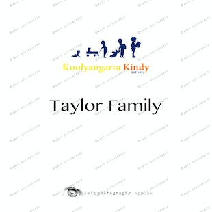 Koolyangarra Kindy - Taylor Family