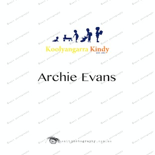 Koolyangarra Kindy - Archie Evans