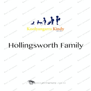 Koolyangarra Kindy - Hollingsworth Family