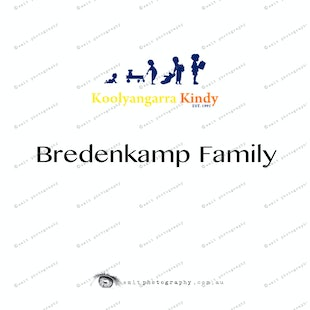 Koolyangarra Kindy - Bredenkamp Family