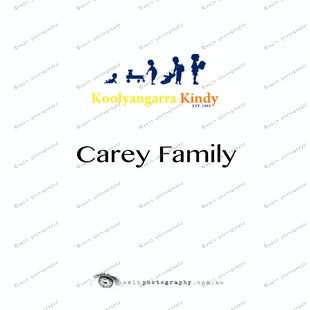 Koolyangarra Kindy -  Carey Family
