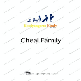 Koolyangarra Kindy - Cheal Family