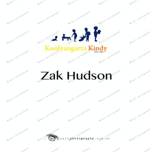 Koolyangarra Kindy - Zak Hudson
