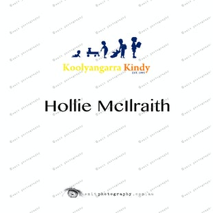 Koolyangarra Kindy - Hollie McIlraith
