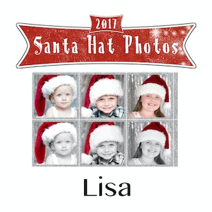 Santa Hat Photos - Lisa