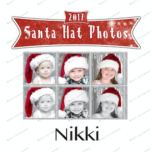 Santa Hat Photos - Nikki