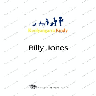 Koolyangarra Kindy -  Billy Jones