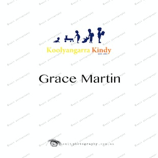 Koolyangarra Kindy -  Grace Martin