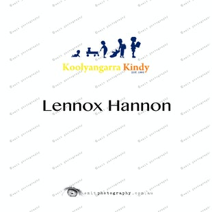 Koolyangarra Kindy -  Lennox Hannon