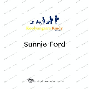 Koolyangarra Kindy -  Sunnie Ford