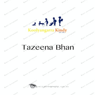 Koolyangarra Kindy -  Tazeena Bhan