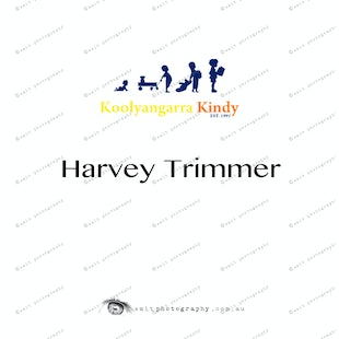 Koolyangarra Kindy -  Harvey Trimmer
