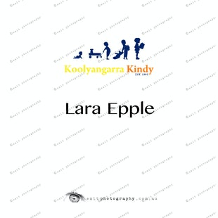 Koolyangarra Kindy -  Lara Epple