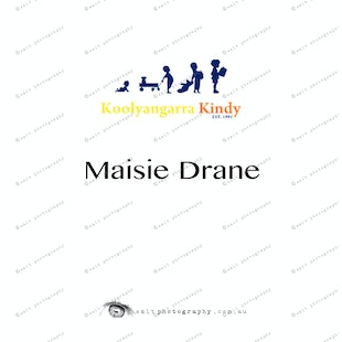 Koolyangarra Kindy -  Maisie Drane