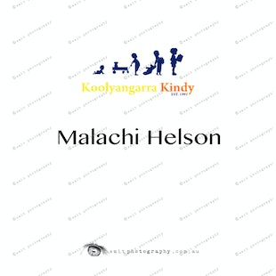 Koolyangarra Kindy -  Malachi Helson