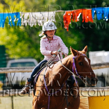 Under 9 Years Barrel Race