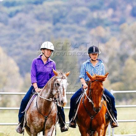 Pair of Riders Under 16