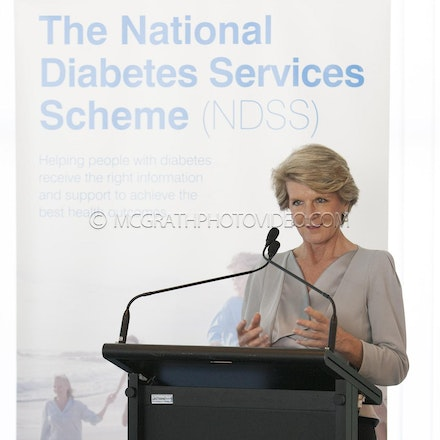 Declaration Launch - Western Pacific Diabetes Declaration Launch and morning tea. Farewell lunch for Hon. Judy Moylan MP. Parliament House, Canberra.