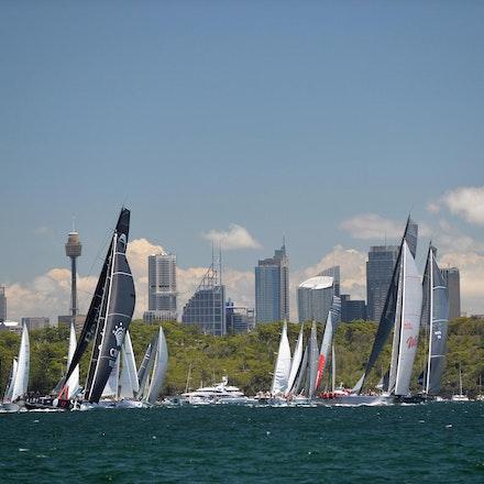 Blakeman_2013_100200 - 26/12/13, Sydney, Australia, Sydney to Hobart Start