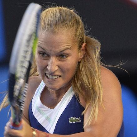 Blakeman_2014_107881 - Na LI (CHI) Defeats Dominika CIBUKOLVA (SVK) on day 13 at Rod Laver Arena