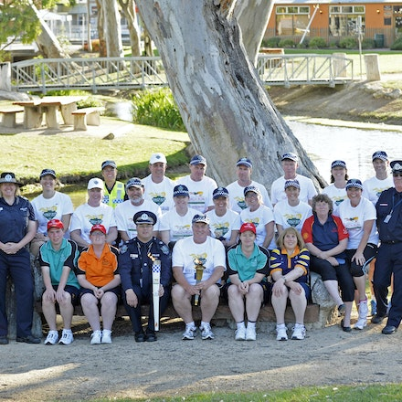 141016_letr_001162 - 2014  October 16th, Law Enforcement Torch Run (LETR) through Narancoorte South Australia for the last leg before handing over the...