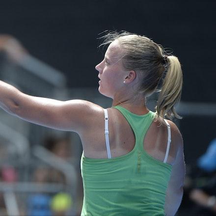 _PB16545 - 2015 20th January. Day 2 of the Australian Open Tennis. Petra Kvitova (CZE) defeats Richel Hogenkamp (NED) in straight sets 6-1 6-4 Hogenkamp...