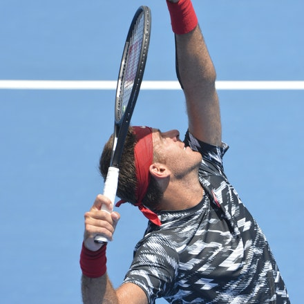 _DSC9474 - 2015 13th January APIA International Sydney Tennis, day 3. Juan Martin DEL POTRO (ARG) defeats Sergiy STAKHOVSKY (UKR) 6-3 7-6 Del POTRO in...