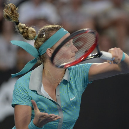 _PB12973 - 2015 16th January APIA International Sydney Tennis, day 6. Womens final, Petra Kvitova (CZE) defeats Karolina Pliskova (CZE) in straight sets...