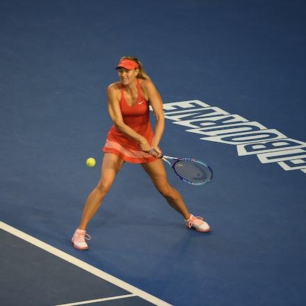 SMA_7259 - 2015 31st January. Day 13 of the Australian Open Tennis. Women's final, Serena Williams (USA) defeats Maria Sharapova (RUS) in straight sets...