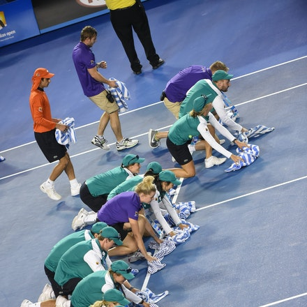 SMA_7444 - 2015 31st January. Day 13 of the Australian Open Tennis. Women's final, Serena Williams (USA) defeats Maria Sharapova (RUS) in straight sets...
