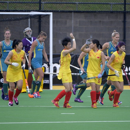 Hockeyroos V China Game 2