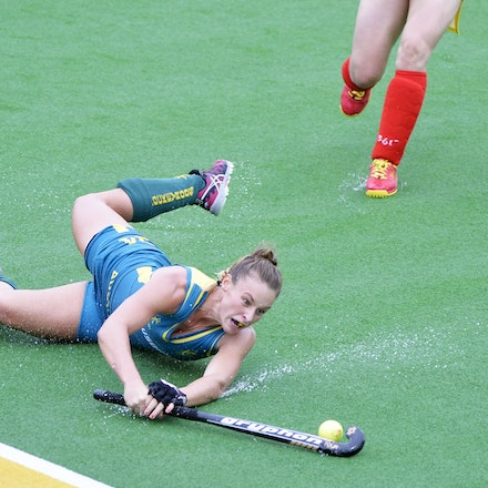 _PB10530 - 2015 4th April. Day 2 International Hockey Sydney. Australia V China